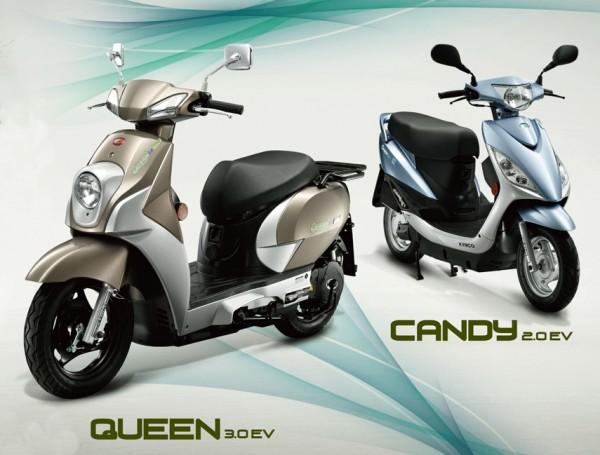 Kymco Queen και Kymco Candy