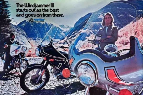 Να και τα φέρινγκ Windjammer της δεκαετίας του '70