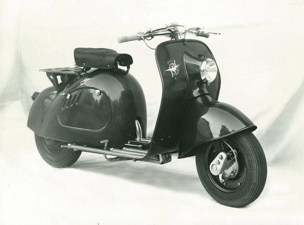 """MV Agusta """"Β"""" 125, 1949-1950"""