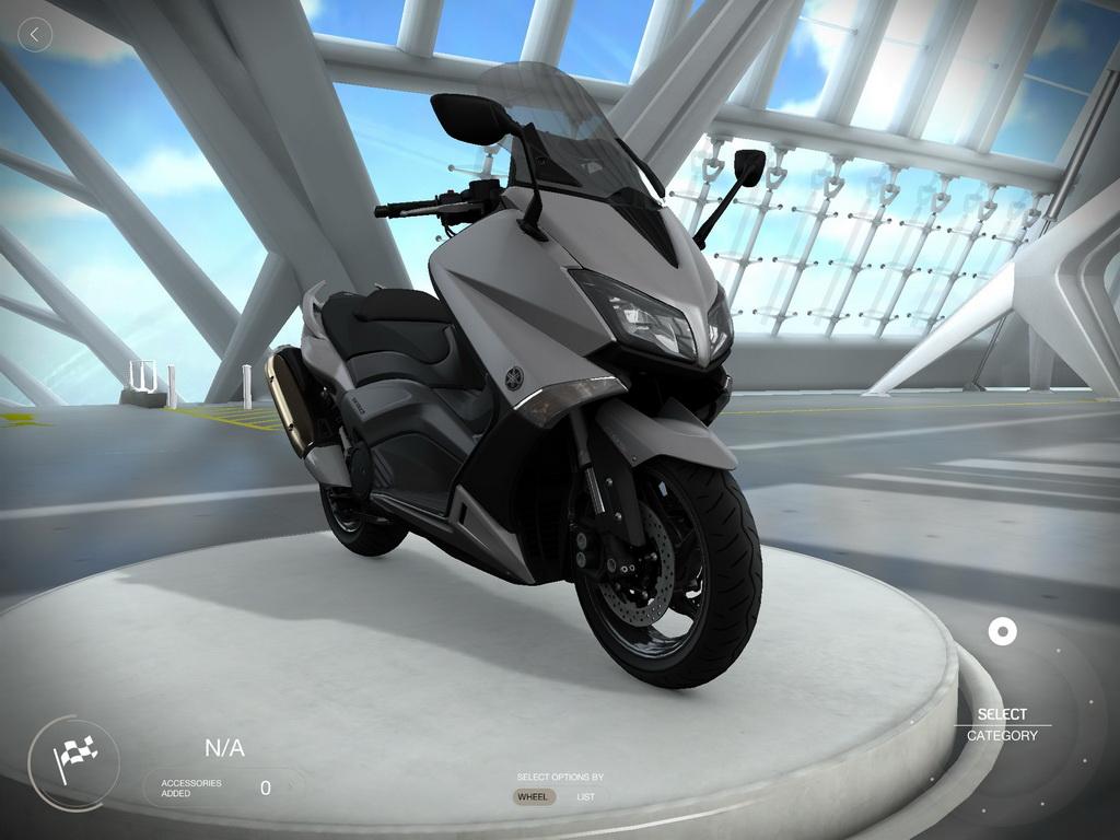 Yamaha t my garage app scooternet for Garage yamaha scooter