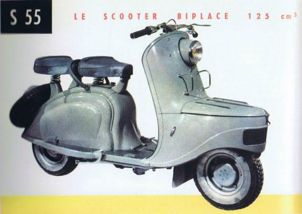Peugeot S 55 παρουσιάστηκε το 1953