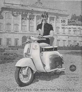 Agrati Capri 150, Ιταλία, 1950