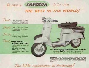 Laverda 60, Μικρό και τετράχρονο
