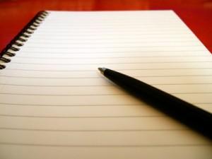 Mε χαρτί και με μολύβι παίρνονται οι αποφάσεις...