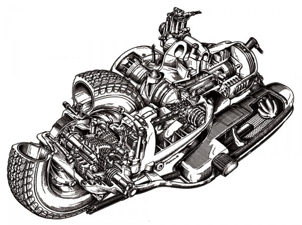 O κλασσικός κινητήρας της Lambretta από το '60 και μετά