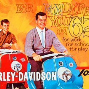 ΙΣΤΟΡΙΑ: HARLEY DAVIDSON TOPPER, 1960