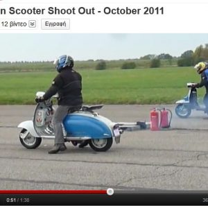 VIDEO: DRAGSTER SCOOTERS