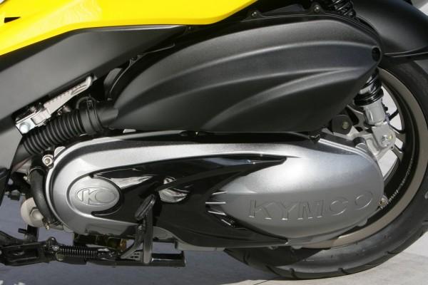 Ο νέος κινητήρας της Kymco, με 399 κ.εκ. και 35 ίππους