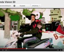 VIDEO: ΤΟ ΝΕΟ HONDA VISION 50
