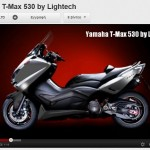 YAMAHA TMAX 530: AΞΕΣΟΥΑΡ LIGHTECH x 8