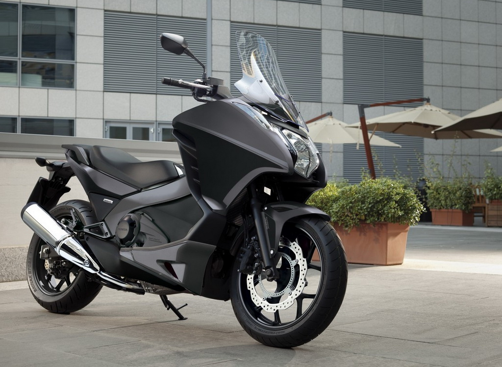 honda integra 700 black monte 2013 scooternet. Black Bedroom Furniture Sets. Home Design Ideas