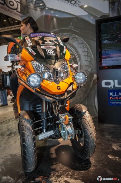 Aρκετές μετατροπές έχει δεχθεί το Quadro για να προσαρμοστεί στις ανάγκες του μεγάλου ταξιδιού