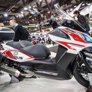 KYMCO REMUS DOWNTOWN: LIMITED EDITION