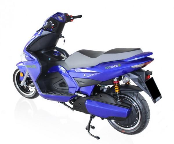 To Εcomission EcoJumbo 5000, ήταν πρώτο σε πωλήσεις στην Ιταλία το 2012