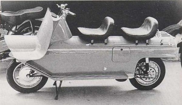 Γενεύη 1958: Παρουσιάζεται το πρωτότυπο Montesa Fura