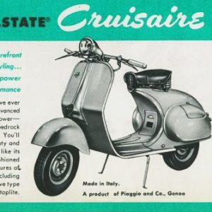 ΙΣΤΟΡΙΑ: ALLSTATE CRUISAIRE, 1955: ΒΕΣΠΑ ΜΕ ΑΝΤΙΚΑΤΑΒΟΛΗ!