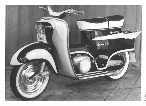 KTM Ponny I: 1960-1962