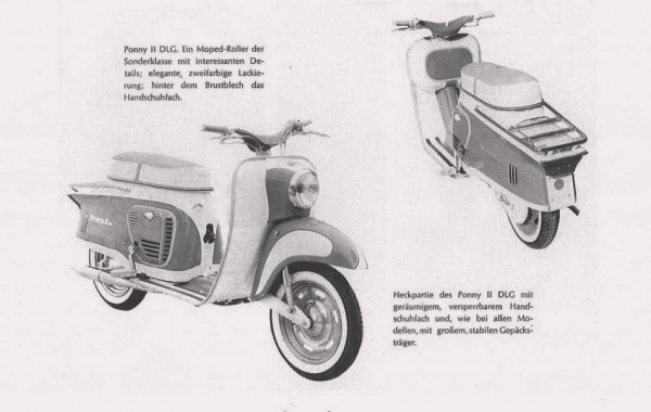 KTM Ponny ΙΙ DLG: 1962 - 1968