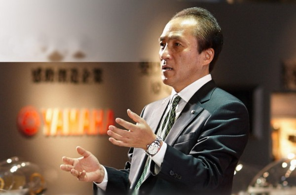 Ο πρόεδρος της Yamaha Μotor, κύριος Hiroyuki Yanagi