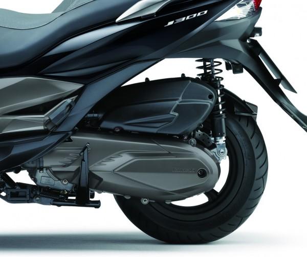 Ο γνωστός κινητήρας της Kymco φοράει τώρα το λογότυπο της Kawasaki