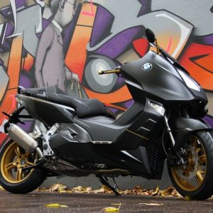 BMW C 600 BLACK EDITION, BOBILLOT