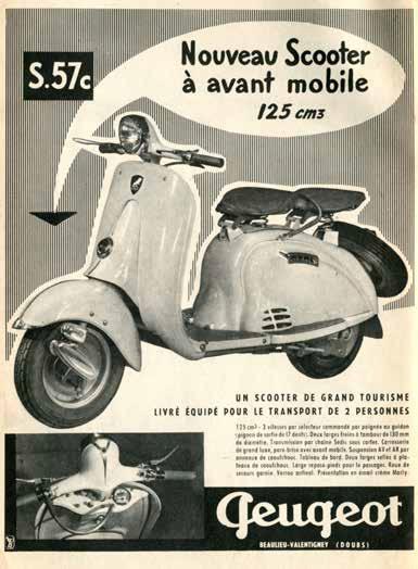 Μοιάζει το Django με το σκούτερ της Peugeot του '50; Μοιάζει...