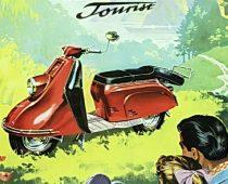 ΙΣΤΟΡΙΑ: HEINKEL TOURIST, 1950-1964