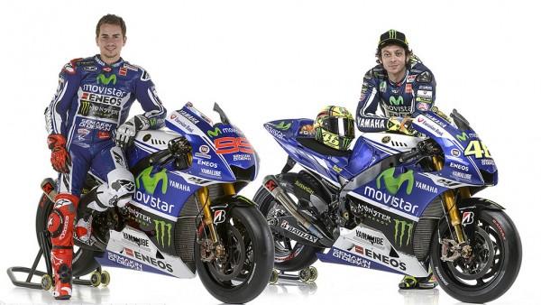 Jorge Lorenzo (αριστ.) και Valentino Rossi είναι έτοιμοι για την αγωνιστική χρονιά του 2014