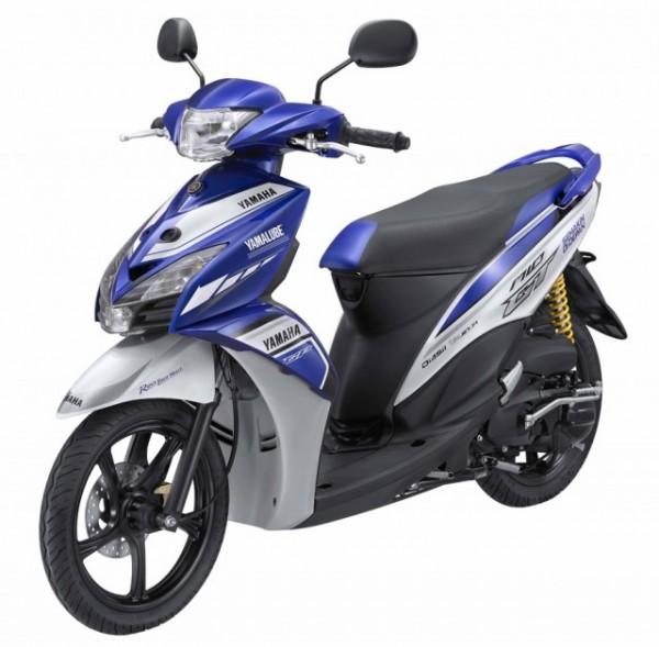 To κομψό Yamaha Mio GT 125 ΜotoGP κυκλοφορεί μόνο στην Ινδονησία
