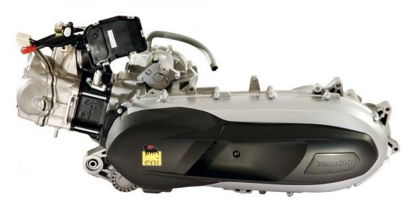Ο κινητήρας των 330 κυβικών της Piaggio είναι από τους ισχυρότερους της αγοράς