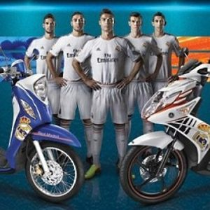 YAMAHA ΤΑΪΛΑΝΔΗΣ: REAL MADRID SPECIAL EDITIONS