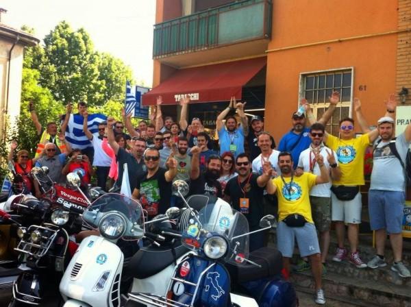 Η ελληνική ομάδα του φετινού Vespa World Days