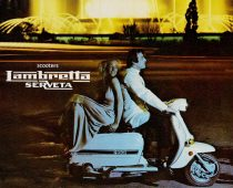 ΙΣΤΟΡΙΑ: Lambretta Serveta 1978, Προσπέκτους στα Ελληνικά