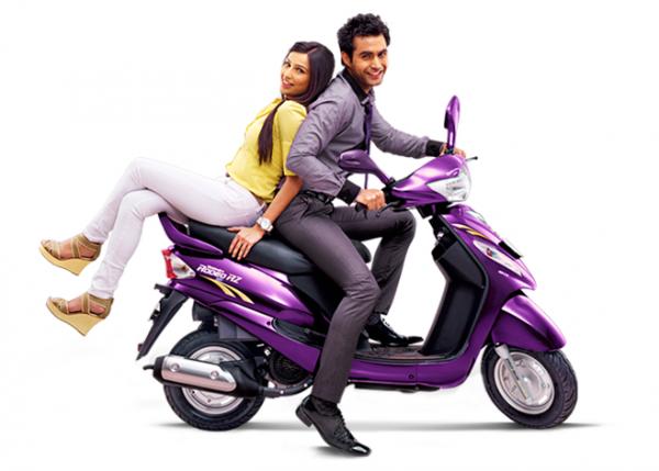 Δημοφιλή τα σκούτερ της Mahindra στην Ινδία, αλλά πίσω από τα Hero και τα Honda