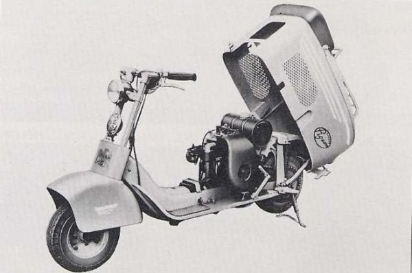 Mitsubishi Silver Pigeon C 25, 1950