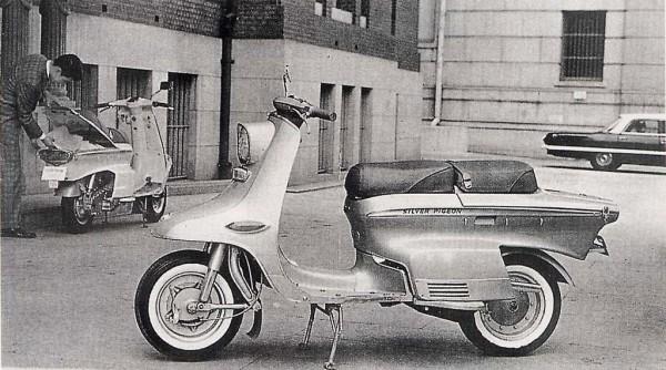 8-Mitsubishi Silver Pigeon C140-C240, 1963. Όμορφα, δικύλινδρα και... τελευταία Mitsubishi