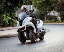PEUGEOT METROPOLIS 400i RS, Πλήρης Δοκιμή