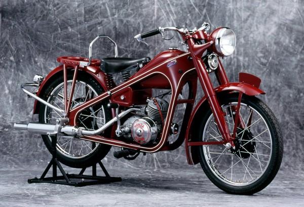Ηonda Dream D Type, η πρώτη μοτοσυκλέτα της Honda το 1949