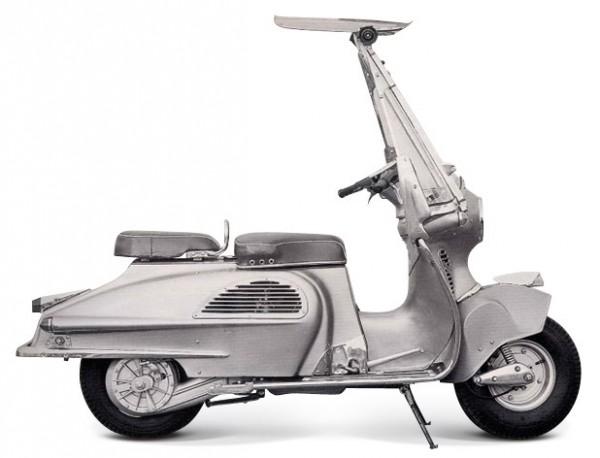 Honda Juno K το πρώτο σκούτερ της Honda του 1954