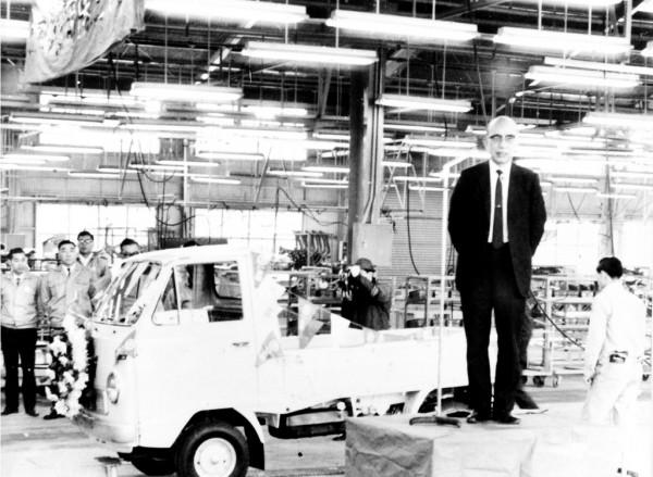 1969 360 mini van