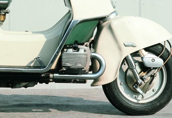 O κινητήρας του Honda M85 είχε κυβισμό 170 κυβικών