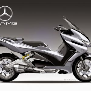 MERCEDES AMG SCOOTER: ΠΟΙΟΣ ΝΑ ΞΕΡΕΙ;