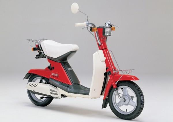 Η πιο μοντέρνα έκδοση. Το Yamaha Pasetta του 1981