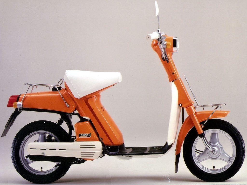 Αυτό είναι το Yamaha Passol, το πρώτο σκούτερ της μοντέρνας εποχής. Η αρχή όλων...