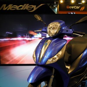 PIAGGIO MEDLEY 125 ABS, 150 ABS 2016: Mε κινητήρα Start&Stop!
