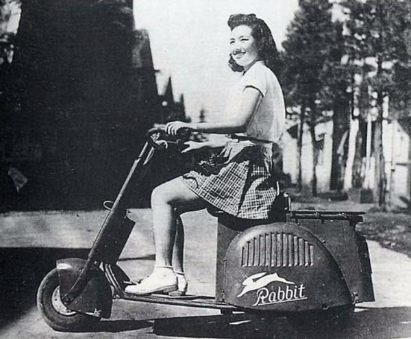 To πρώτο Fuji Rabbit, του 1946, ήταν πρωτόγονο