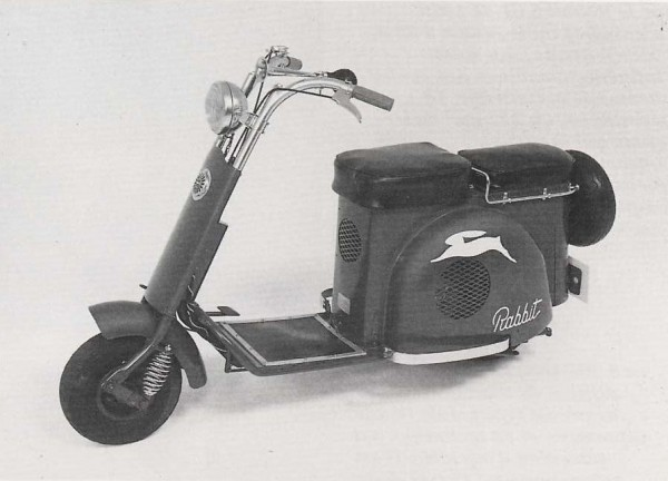 Το FujiRabbit S23 του 1950 είχε εξελιχθεί σε πλήθος τομέων