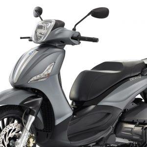 YSS Hybrid: Αμορτισέρ για Piaggio Beverly 300