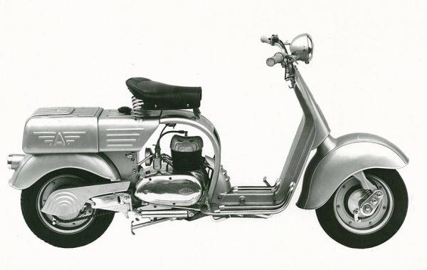 """MV Agusta """"A"""" 125, 1949-1950"""
