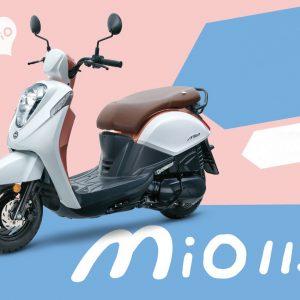 SYM Mio 115, 2016: Νέο, παρουσιάστηκε στην Ταϊβάν
